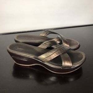 Cole Haan Strap Sandals with NikeAir soles Sz 9